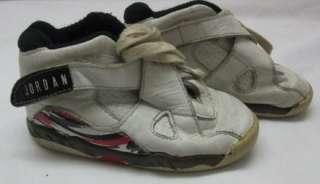 Nike Air Jordan # 8 Original baby jordan1992 sz US7.5c