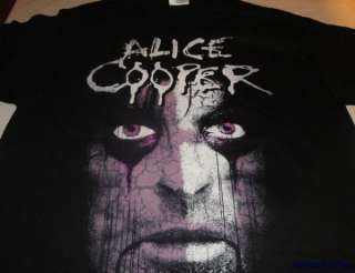 ALICE COOPER Psycho Drama Tour 08 NEW T SHIRT XL