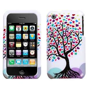 Apple iPhone 3G/3GS Love Tree Phone Protector Cover for Apple