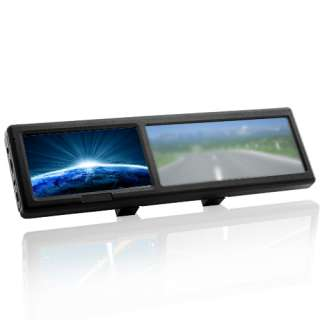 Inch Touchscreen Rear view Mirror GPS Navigation Map 4GB+Bluetooth