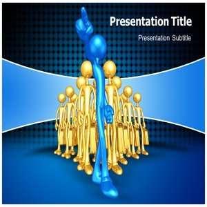 Leadership Powerpoint Template   Background Powerpoint on Leadership