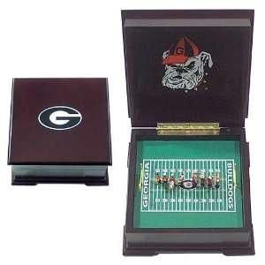 Georgia Bulldogs Marching Band Music Box Sports