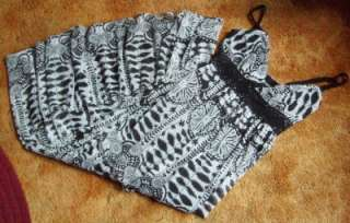 Gorgeous Alyn Paige Black & White Dress Womans 9 10