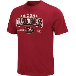 Majestic Arizona Diamondbacks Youth Sedona Red Built Legacy T shirt
