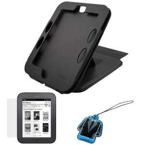 LCD Screen Protector + LCD PVC Mobile Cleaner for  Nook