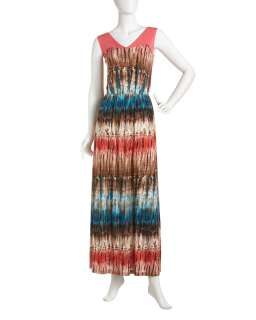 Romeo & Juliet Couture Printed Maxi Dress