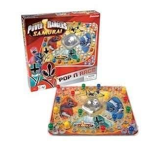 Power Rangers Samurai Pop N Race Toys & Games