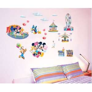 Mickey Mouse Club House Minnie Mouse Circus Wall Sticker