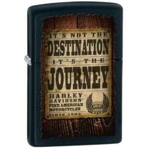 Harley Davidson Wood Journey Lighter Electronics