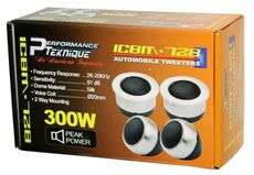PAIR NEW PERFORMANCE TEKNIQUE 1.5 SILK DOME TWEETERS 368298567682