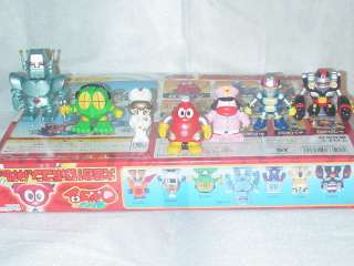 ROBOCON RED ROBOT JAPAN ANIME FIGURE SET OF 14 NEW RARE