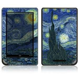 Nook Color Decal Sticker Skin   Starry
