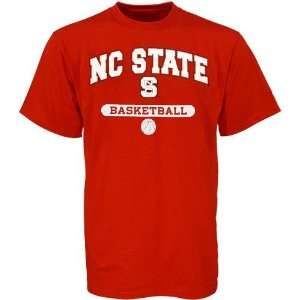 Carolina State Wolfpack Red Basketball T shirt