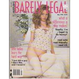 Magazine May 1996 Editors of Hustlers Barely Legal Magazine Books