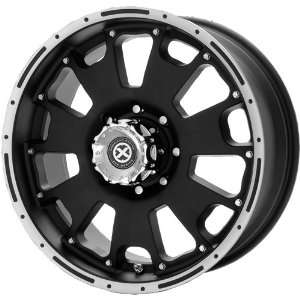 American Racing ATX Vice 20x8.5 Black Wheel / Rim 6x5.5 with a 18mm