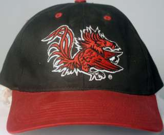 South Carolina Gamecocks NCAA Officially Licensed Hat Cap Black Red