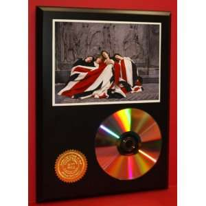 The Who 24kt Gold CD Disc Display   Band Merch   Award