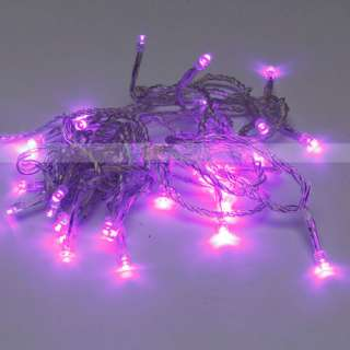 New Bright Lights Home Decoration Purple 30 LED Battery Outdoor String