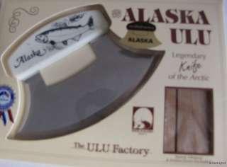 Alaska Ulu Resin Handle Inupiat Knife SALMON FISH