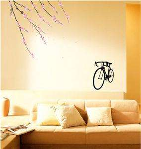 Blossom Wall Art Deco Flower Decal Mural Paper Sticker Adhesive