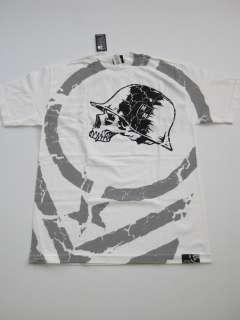 Metal Mulisha WHITE Shirt Tee UFC MMA MENS SS SHORT SLEEVE NEW