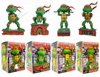 TEENAGE MUTANT NINJA TURTLES TMNT Headknocker Figure x4