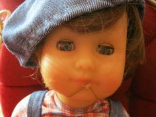 Up for your consideration is a Gotz Modell Boy Doll. Brown hair and