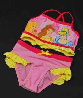Pink Girls Summer Swimsuit Swimwear 2 PC SZ 3T 4T SW8