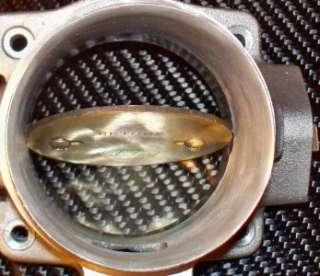PORTED 99 00 FORD MUSTANG V6 3.8 3.8L 70MM BBK THROTTLE BODY INTAKE