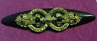 TU2 * BEAUTIFUL ART NOUVEAU BROOCH JEWELRY ANTIQUE GERMAN