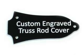 Custom engraved Truss Rod Cover for Older Epiphone Les Paul, etc