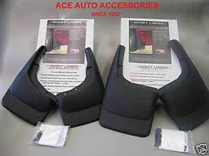 2006 08 LINCOLN MARK LT TRUCK CUSTOM MUD FLAPS 4PC SET