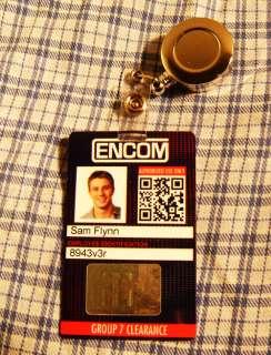 TRON ID Card ENCOM Employee Badge Costume Daft Punk Sam