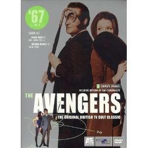 Avengers 67   Set 3, Vols. 5 & 6 Patrick Macnee, Diana