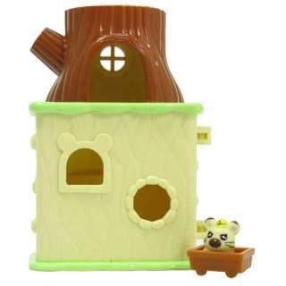 HAMTARO POCKET HOUSE BOSS TREE HOME JR PLAYSET EPOCH