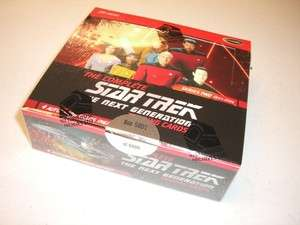 NEW Complete Star Trek TNG Series 2 Sealed Box 4 Autos + P1