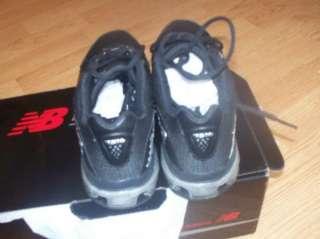NIB NEW BALANCE MENS MX7516 BLACK TRAINING SHOE  7 D