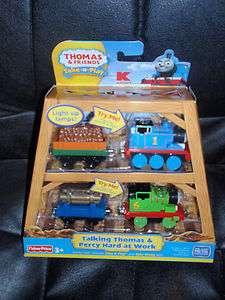 Thomas & Friends take n play Talking Thomas & Percy pk
