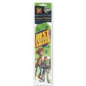 Toy Story Best Friend Award Ribbon Toys & Games
