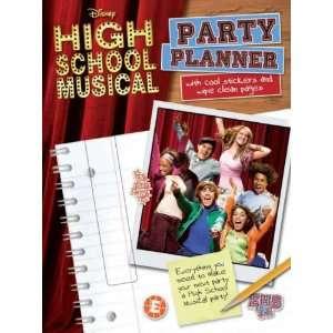 Book Party Planner (Disney High School Musical) (9781407523293): Books