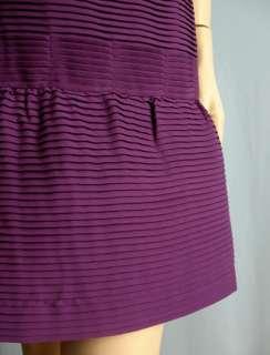 BCBGMAXAZRIA BCBG Max Azria Purple Strapless Dress Size Sz 8 NWT