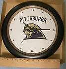 Authentic Pitt Pittsburgh Panthers Ceramic Wall Clock