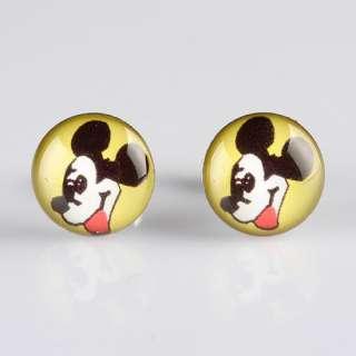 10x10mm Child Kid Girls Cute Kawaii Party Earrings Stud