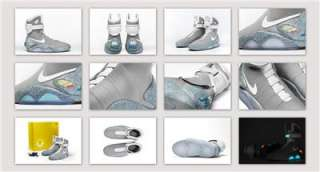 Nike Mag 10 Back to the Future II Marty McFly 2015 NEW kobe