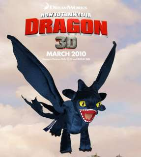 How to Train Your Dragon Toothless Night Fury Plush NY