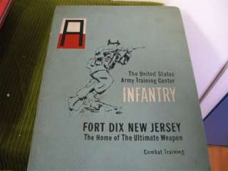 FORT DIX COMBAT TRAINING YEARBOOK MAY 1969!