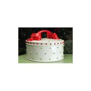 Brewster Krinkles Dressed Up Christmas Cake Plate Dome Kitchen