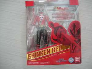 Bandai SHF S.H. Figuarts Shinkenger Shinken Red Figure
