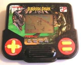 JURASSIC PARK Vintage Tiger Electronic Handheld Hand Held Game