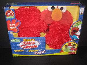 Price Sesame Street Elmos Tickle Hands includes Fun DVD New In Box